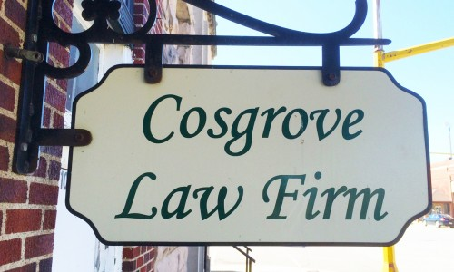 Cosgrove Sign